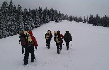 На Закарпатье заблудились швецарские лыжники-туристы