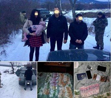 На Закарпатье задержали группу мигрантов из Армении с маленьким ребенком