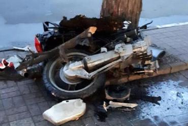 Смертельное столкновение: В Закарпатье разбился насмерть мотоциклист