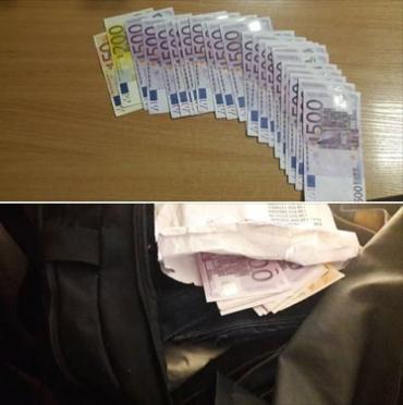 """На КПП """"Тиса"""" таможенники изъяли не задекларированные почти 11 тысяч евро"""