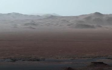 Панорамная съемка Марса