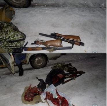 В Воловецком районе Закарпатья поймали трех браконьеров