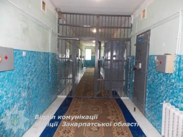 На Закарпатье обвиняемый в грабеже наложил на себя руки в СИЗО