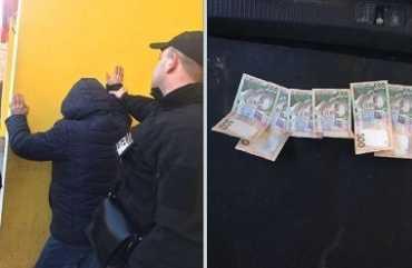 В Хусте при получении взятки задержали чиновника