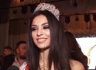 Первой красавицей Ужгорода стала студентка УжНУ Богдана Боишко