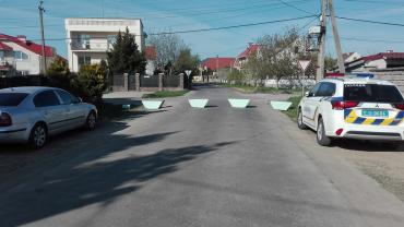 В Закарпатье жители села Минай перекрыли дорогу