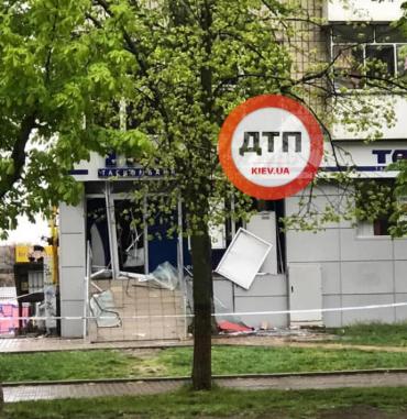 В Броварах под утро прогремел пугающий взрыв - подорвали отделение банка