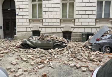 Люди бежали из дома: Хорватия ночью реальный ад, один город разрушен