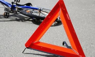 Резонансная ДТП в Закарпатье с участием велосипедиста и легкового автомобиля
