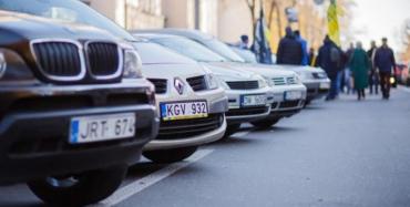 Закарпатье в лидерах по растаможке авто на еврономерах