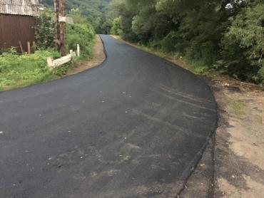 Закарпаття. Дорога «Перечин – Ворочево» до і після ремонту