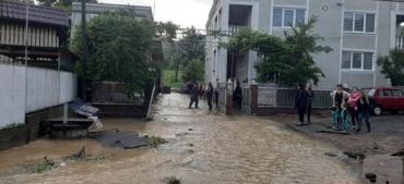 Закарпатье напоминает картину мифологического всемирного потопа