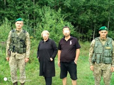 У горах Закарпаття прикордонники затримали подружню пару ліванця та українки