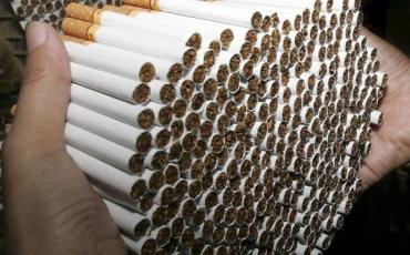 Контрабанду 5000 пачок сигарет до Румунії зупинили прикордоннники Закарпаття