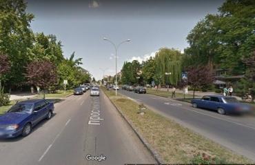 В обласном центре Закарпатья будет ограничено движение на проспекте Свободы