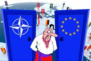 В бундестаге призвали кабмин ФРГ отказать Украине во вступлении в Евросоюз и НАТО