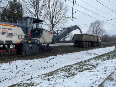 В Закарпатье начался ремонт дороги к венгерской границе