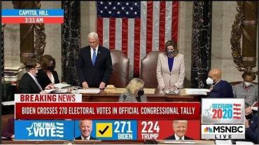 Конгресс США утвердил победу Байдена на выборах