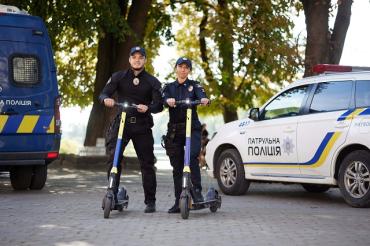 Центр Ужгорода начнут патрулировать на необычном транспорте