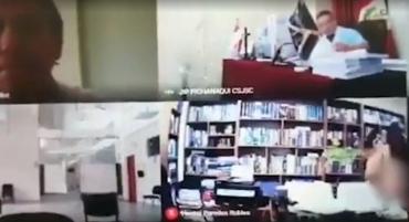Адвоката в Перу поймали за сексом во время судебного заседания по Zoom