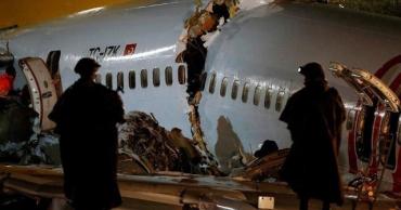 При посадке в Индии развалился самолет авиакомпании Air India с двумя сотнями пассажиров