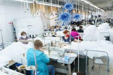 У работников фабрики, которая шила защитные костюмы для медиков, обнаружили COVID-19