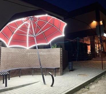 В областном центре Закарпатья соорудили оригинальную зону для селфи
