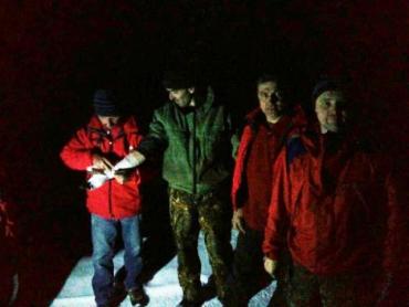 Спасатели ГСЧС Закарпатья пришли на помощь травмированному в горах мужчине