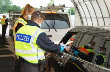 С начала июля в Германии задержали 56 украинцев, у одного изъяли 6500 €