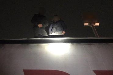 В Закарпатье двое нелегалов ехали в Венгрию на крыше грузовика