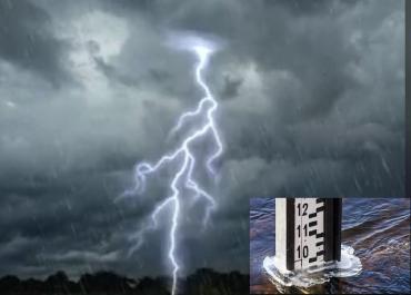 Штормовое предупреждение: В Закарпатье и Ужгороде ожидаются ливни, грозы, град и шквальный ветер