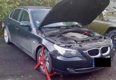 На КПП Вилок пограничники конфисковали авто с левым VIN-кодом: BMW оценили в 260 тысяч гривен