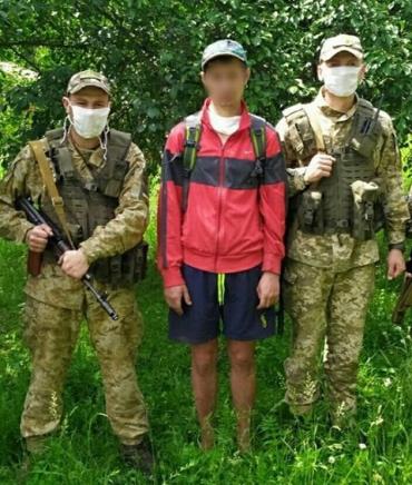 В Закарпатье на границе с Венгрией поймали дезертира