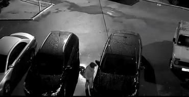 Видео момента кражи из авто на Шахте в Ужгороде опубликовали в сети.