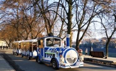 """Аттракцион """"Мини-паровоз"""", понравившийся ужгородцам остается в областном центре Закарпатья"""