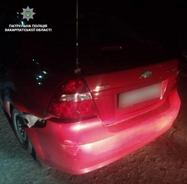 В Ужгороде патрульные задержали водителя с превышением допустимой нормы алкоголя в 13 раз