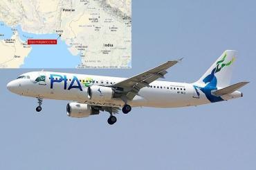 В Пакистане разбился пассажирский самолет : На борту более 100 пассажиров
