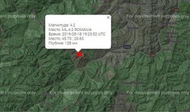 Самое сильное землетрясение с начала месяца: В Румынии зафиксированы подземные толчки