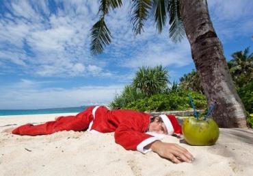 Новогодние подарки в стране Кирибати дарят первыми
