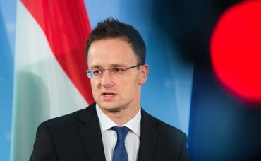 Об этом заявил глава МИД Венгрии Петер Сийярто