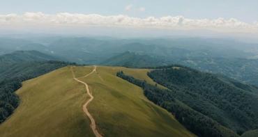 Невозможно оторваться от красоты горы Апецка в Закарпатье