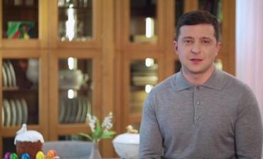 Поможем Богу. Остаемся дома», – Владимир Зеленский поздравил украинцев с наступающей Пасхой