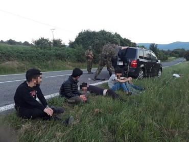 В Словакии задержали переправщика нелегалов