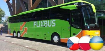 Автобусный лоукостер открывает три новые линии из Украины в Польшу и Чехию