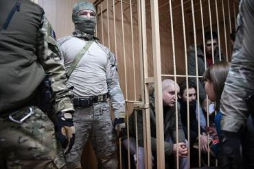 Лефортовский районный суд продлил арест пленным украинским морякам
