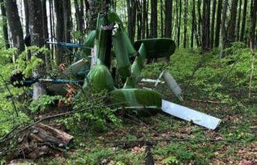 В соседней с Закарпатьем Румынии обнаружили потерпевший крушение вертолет с телом пилота