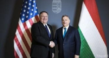 Премьер Венгрии обсудил с госсекретарем США ситуацию в Закарпатье