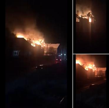 В Ужгороде сгорел частный дом