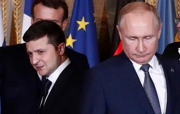 Запросы поступали: В России подтвердили предложение Киева о встрече Путина и Зеленского
