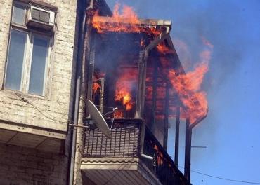 В Закарпатье во время пожара погиб мужчина